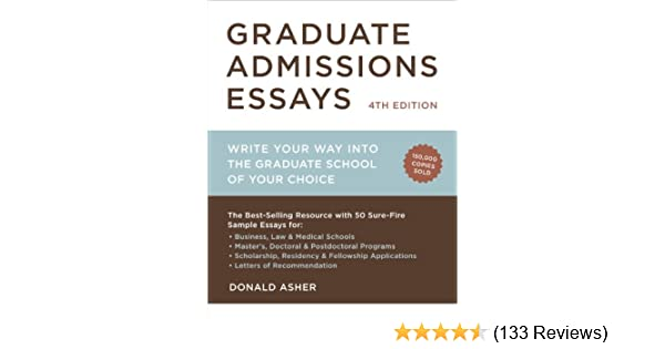 Health Education Essay Amazoncom Graduate Admissions Essays Fourth Edition Write Your Way Into  The Graduate School Of Your Choice Graduate Admissions Essays Write Your  Way  Christmas Essay In English also Synthesis Essay Topic Ideas Amazoncom Graduate Admissions Essays Fourth Edition Write Your  Science And Religion Essay