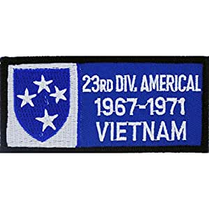 U.S. Army 23rd Infantry Division Vietnam Patch