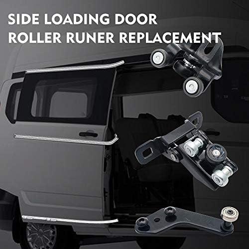 Right Side-Top Middle Bottom Roller Runner SUNWAN Sliding Door Bottom Side Roller Runner for Transit 2000-2014
