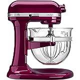kitchen aid 600 pro mixer pasta - KitchenAid KF26M1QBX Pro 600 Deluxe Stand Mixer, Bordeaux, 6 Qt