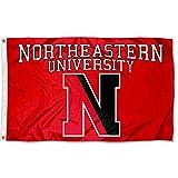 Cheap Northeastern Huskies NU University Large College Flag