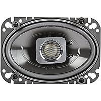 2) NEW Polk Audio DB462 4x6 150W 2-Way Car/Marine Coaxial Speakers Stereo Black