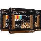 KIND Healthy Grains Granola Bars, Dark Chocolate Mocha, Gluten Free, 1.2oz Bars, 15 Count
