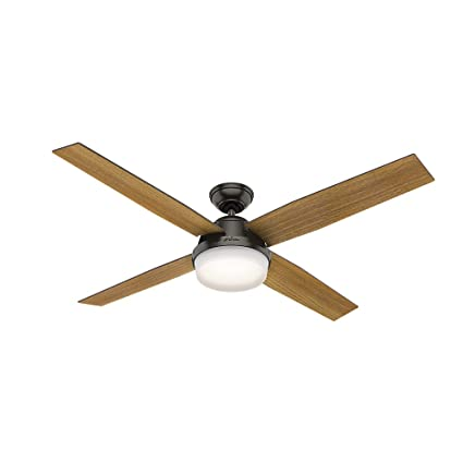Hunter 59443 hunter dempsey ceiling fan with light with handheld hunter 59443 hunter dempsey ceiling fan with light with handheld remote 60quot noble mozeypictures Image collections