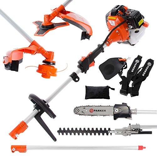 52cc Multi Function 5 in 1 Garden Tool - Brush Cutter, String Trimmer,...