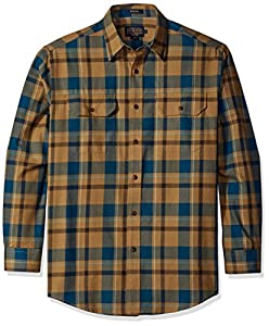Pendleton Men's Classic-Fit Bridger Shirt, Tan, LG