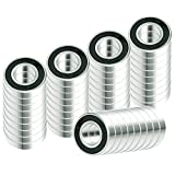 50x R16-2RS Ball Bearing 2in x 1in x 0.5in 2RS RS Rubber