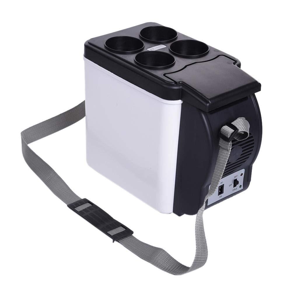 V/éhicule Et Domicile Double Usage 6L 12V // 220V Voyage Camping SmallPocket Glaci/ère /Électrique Portable Mini Rigo Voiture