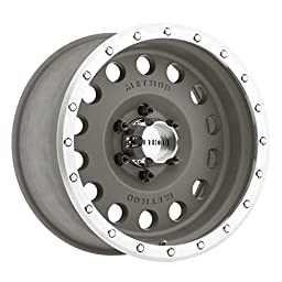 Method Race Wheels Hole Magnesium Grey Wheel with Machined Lip (17x8.5\