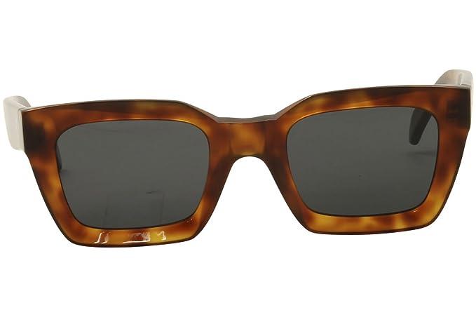 406fc543f32 Celine Womens Women s Cl 41450 S-086 Ir 50Mm Sunglasses at Amazon Men s  Clothing store