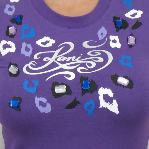 Kani Ladies–Panter T-shirt Femme Violet