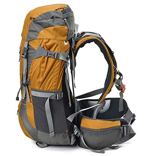 Zaini viaggio lo giallo tempo libero di per multifunzionale grande capacità da sport Zaino da Zaini per trekking Giallo il colore Haxibkena vEq8CC