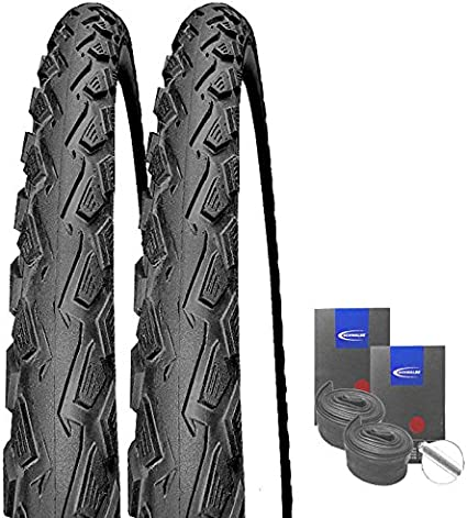 2x  Schwalbe Land Cruiser Reifen 28x1,75 47-622 2 AV Schläuche