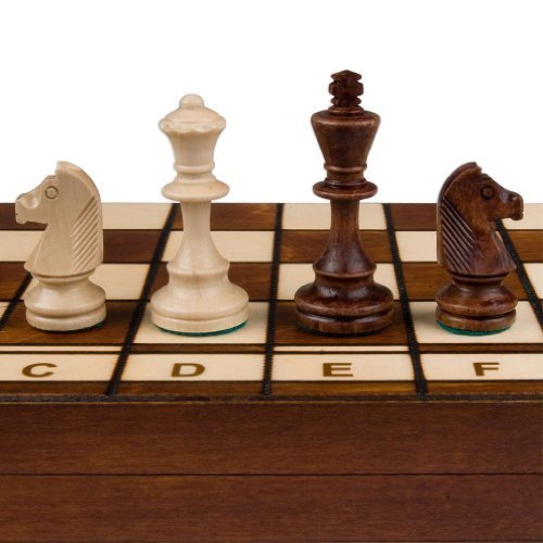 Jowisz Decorative Folding Chess Set with 16 Inch Board