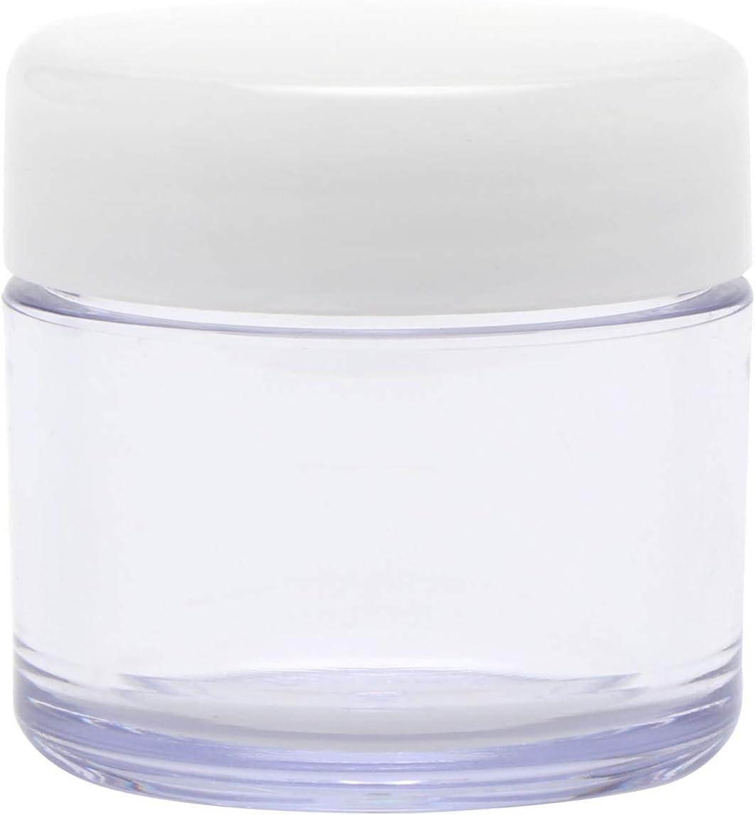 Muji Juego de estuche de viaje color crema (1.0 oz), perfecto para crema corporal, suplemento, etc., paquete de 3 (importado de Japón) (1.0 oz): Amazon.es: Hogar