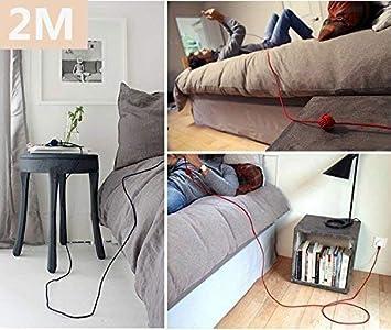 1 Metro, 2 Metros, 3 Metros PS4 y m/ás Kindle Sony Cable Micro USB Rojo Huawei LG Cable USB Sincro y carga usb Compatible con Samsung Galaxy 3-Unidades Yosou Cable Android Trenzado de Nylon