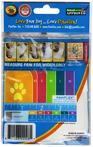 Picture of Pawflex Bandages Medimitt Bandages for Pets (Pack of 4) XSmall