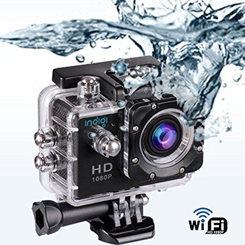 inDigi 4K + 1080p HD WiFi Action Cam Sport DV Outdoor Video