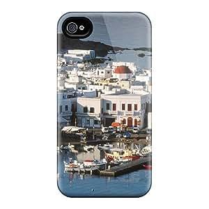 New Arrival Cases Covers With Qxr29281cIEl Design For Iphone 6- Mykonos Harbor Greek Isls Greece