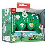 Nintendo Switch Super Mario Bros Luigi GameCube Style Wired Fight Pad Pro Controller