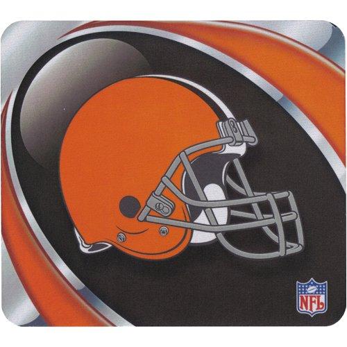 - Cleveland Browns Mouse Pad - Vortex Design