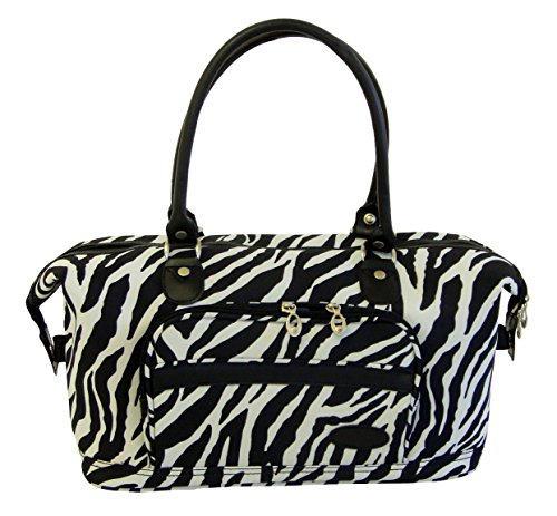 American Flyer Luggage Animal Print 5 Piece Set, Zebra Black, One Size