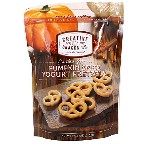 Creative Snacks Co. - Yogurt Pretzels Pumpkin Spice - 9 oz.