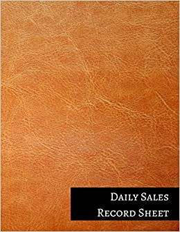 Daily Sales Record Sheet