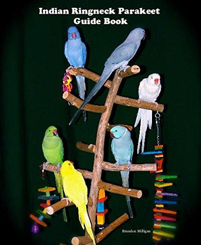 Indian Ringneck Parakeet Guide Book Brandon Milligan