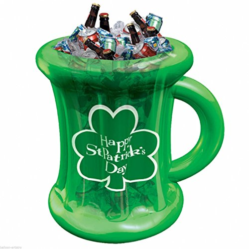 St. Patrick's Inflatable Beer Mug Cooler Party
