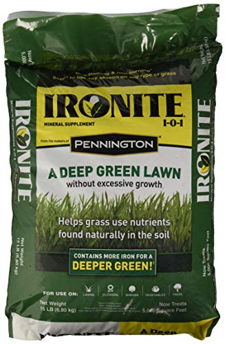 Ironite 021496013589 100519460 1-0-1 Mineral Supplement/Fertilizer, 15 lb