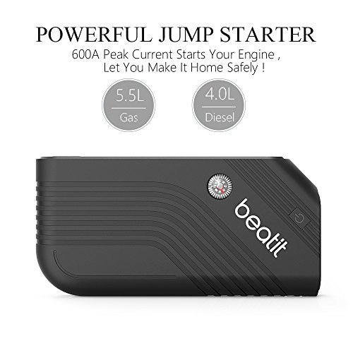 Beatit B9-B-O Portable Car Jump Starter Booster (Battery Charger Power Bank Vehicle Emergency Kit) by Beatit (Image #2)