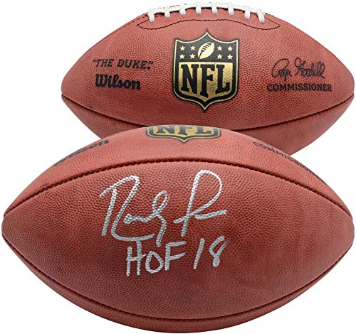 (Randy Moss Minnesota Vikings Autographed Duke Pro Football with