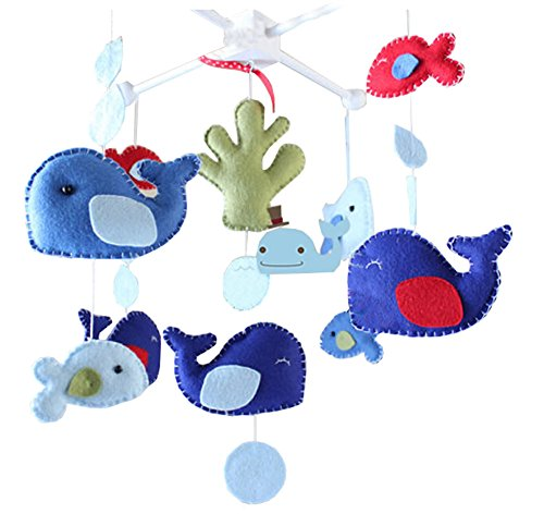 DIY Baby Crib Mobiles Hanging Mobile Toy, Need Sewing ()
