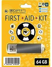 SecuPerts First Aid Kit – Kit de primeros auxilios para Windows en una memoria USB 3.0 de 64GB