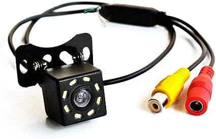 telecamera per auto Telecamera universale anteriore posteriore 170/° grandangolo HD per retromarcia
