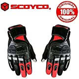 Scoyco MC17B Bike Riding Gloves Set of 2-Black Red