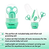 Baby Nail Clippers and Scissors - 5 in 1 Kit