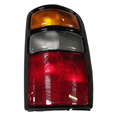 2004-2005-2006 Chevy/Chevrolet Suburban, Tahoe & GMC Yukon XL 1500 2500 Denali Tail Light Lamp Rear Brake Taillight Taillamp Right Passenger Side (04 05 (Tahoe Tail Lights Lamps)