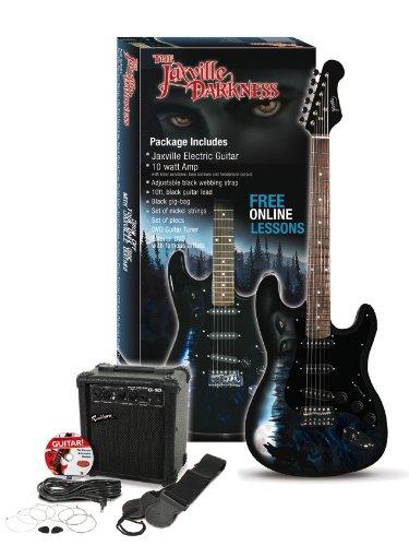 Jaxville Darkness St Style Guitarra eléctrica Set: Amazon.es: Instrumentos musicales
