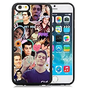 Personalized Iphone 6 Case Design with Dylan O Brien Iphone 6th 4.7 Inch TPU Black Cell Phone Case by mcsharks