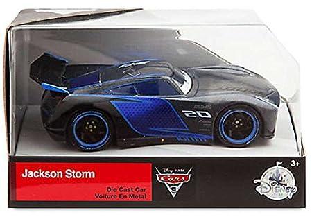 DISNEY STORE CAR 1:43 Jackson Storm Die Cast Vehicle Toy Cars & Trucks at amazon