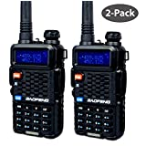 BaoFeng BF-F8+ Dual-Band 136-174/400-520 MHz FM Ham Two-way Radio (Pack of 2)