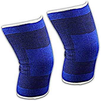Knee Support Sleeves One Pair L