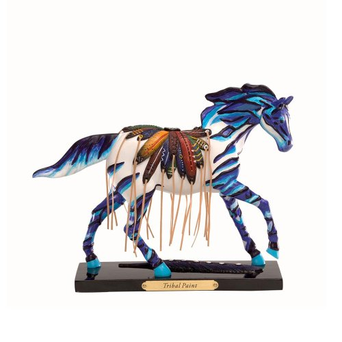 (Enesco Trail of Painted Ponies Tribal Paint Pony Figurine 6-1/4-Inch)