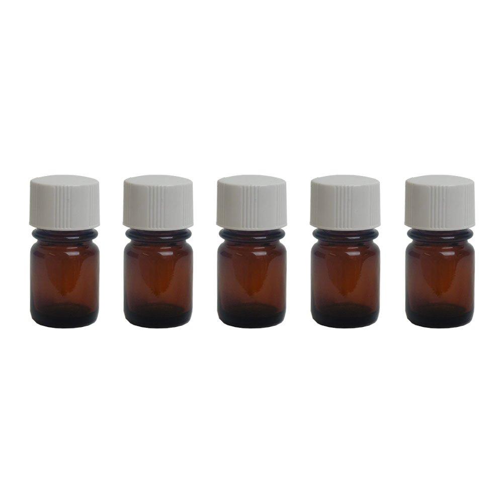 Botella de vidrio ámbar de 15 ml ml líquido aceite esencial sabores Vaping almacenamiento laboratorio Lab: Amazon.es: Hogar