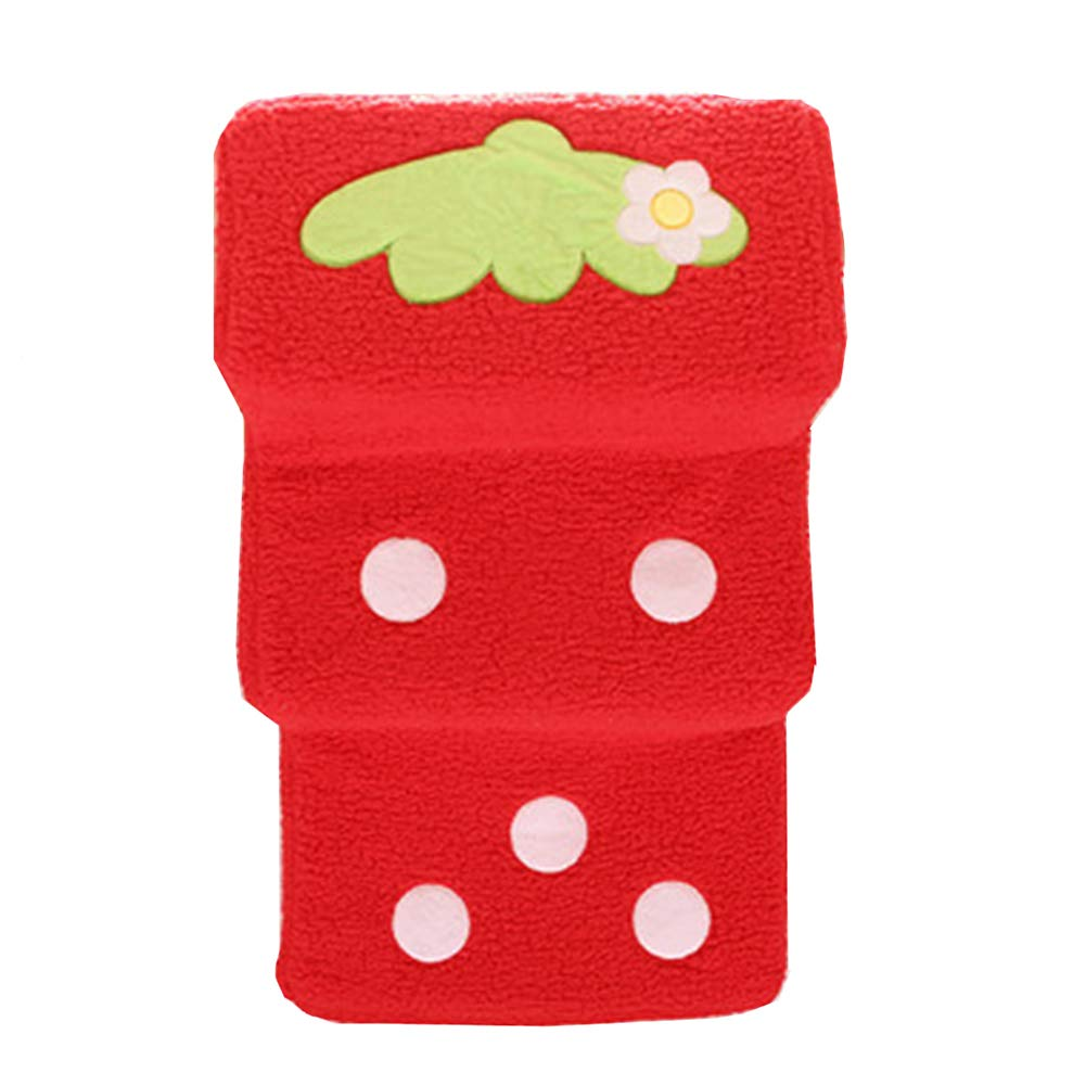 RED Pet stairs 3 Dog Steps for High Bed, All Sponge Animal Ramp Ladder For Small Cats Dogs Up To 45 Pounds (color   RED)