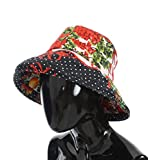 Dolce & Gabbana Carretto Print Wide Brim Bucket Hat