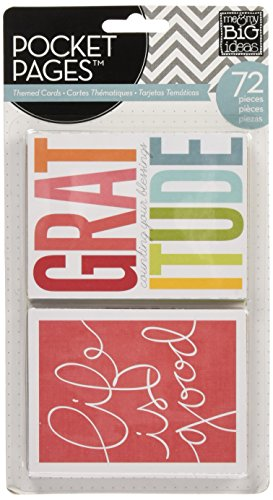 - me & my BIG ideas Pocket Pages Journaling Cards, Story of Me