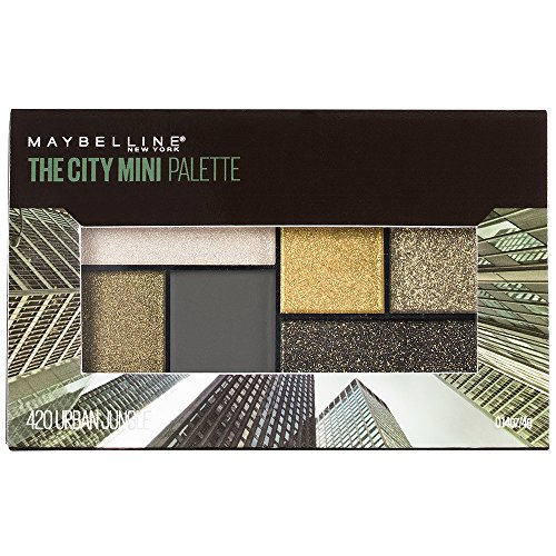 Urban Jungle - Maybelline Makeup The City Mini Eyeshadow Palette, Urban Jungle Eyeshadow, 0.14 oz